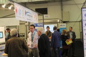 Présentation des solutions de monitoring énergétique aux visiteurs